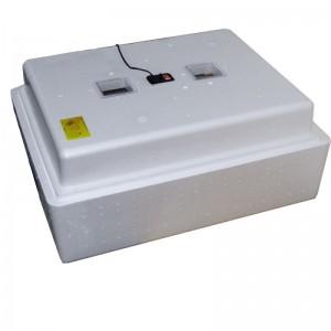 Инкубатор с аналоговым терморегулятором, цифровой индикацией, на 104 яйца, механический переворот