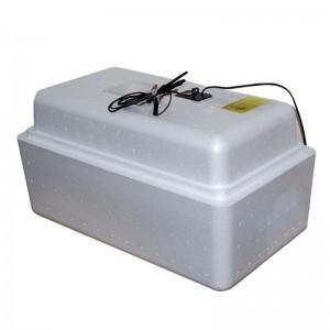 Инкубатор с аналоговым терморегулятором, цифровой индикацией, на 36 яиц, механический переворот, 12В