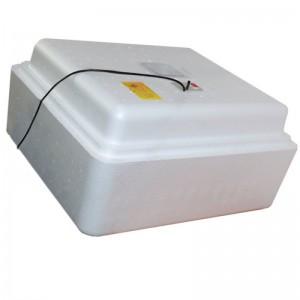 Инкубатор с аналоговым терморегулятором, цифровой индикацией, на 77 яиц, механический переворот